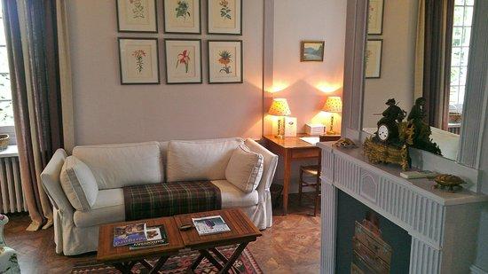 Le Vieux Logis : Living Room