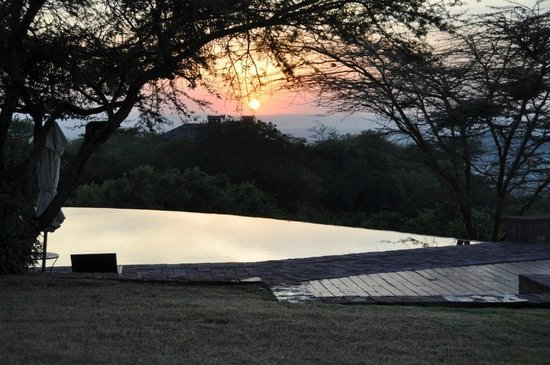 Singita Sasakwa Lodge: Perfectly calm