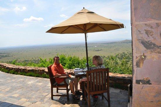 Singita Sasakwa Lodge : Flexible Breakfast times depending on the game drive