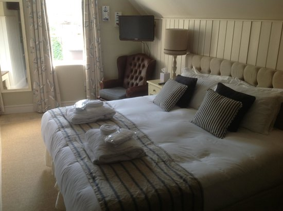 The Swan Hotel: The most comfy bed:)