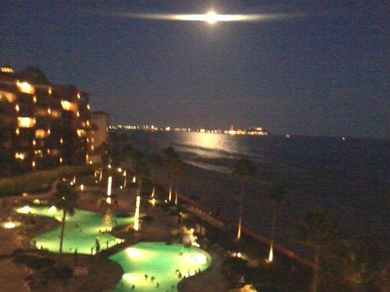 Sonoran Spa Resort : Fenomeno hermoso , el reflejo de la luna en el mar
