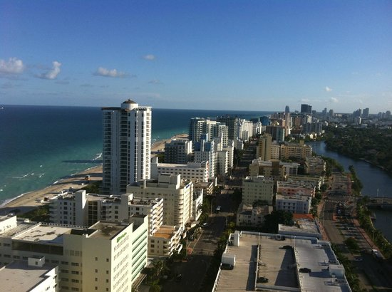 Fontainebleau Miami Beach: View from Tower room, considered Ocean View.