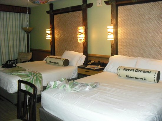 Disney's Polynesian Village Resort : queen beds - fiji