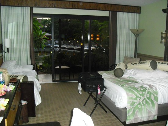 Disney's Polynesian Village Resort: view of room to patio
