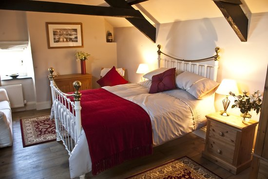 Boyton Farmhouse Bed and Breakfast: Double room 1