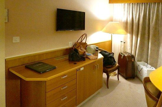 """Hotel du Forum: Our """"superior"""" room"""