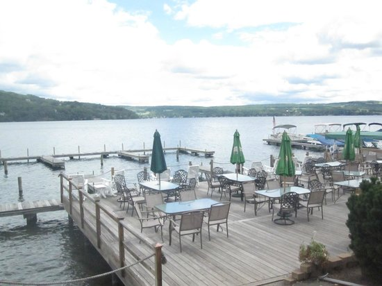 The Lakeside Restaurant Tavern Splendid Views Of Lake Keuka From Dining Area