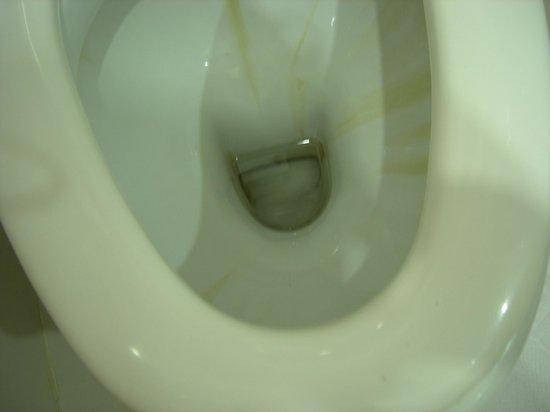 Hotel Ozbekhan: Cleaning below the waterline?