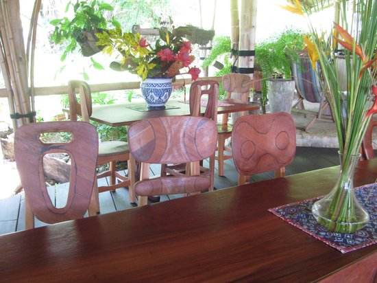 Finca Exotica Ecolodge: Even the chairs are picture worthy!