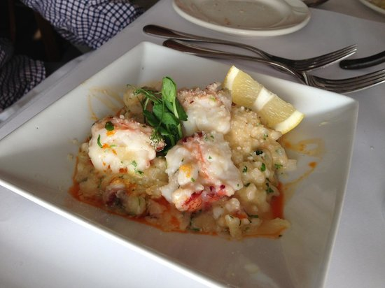McMillin's Dining Room: Lobster risotto