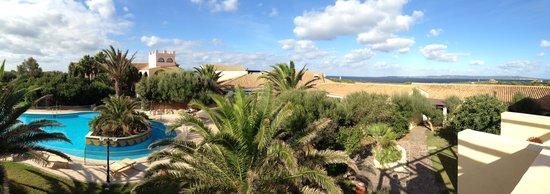 Hotel Luci Del Faro : Panorama-Blick zum Meer