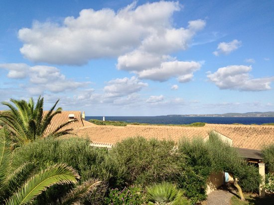 Hotel Luci Del Faro : Blick zum Meer