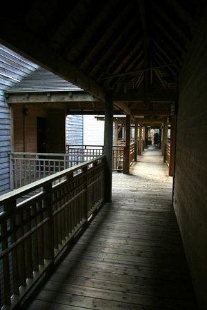 Hotel des Trois Hiboux: Corridor