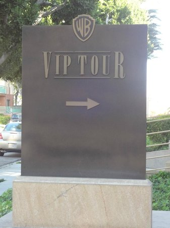 Warner Bros. Studio Tour Hollywood: Entrada do Vip Tour