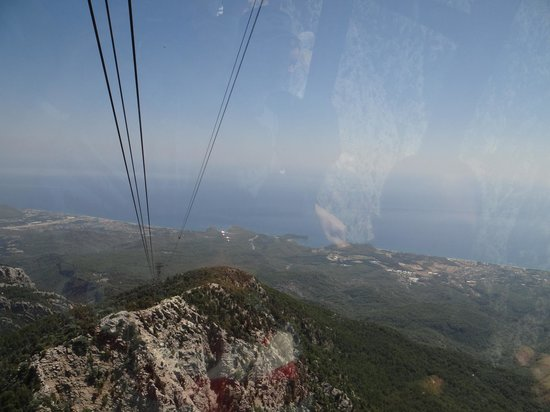 Turkey: View from the lift