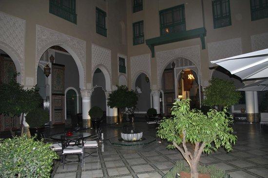 Palais Faraj Suites & Spa: Patio