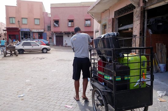 Riad Dar Darma: the porter who asked us for 100DH after a 3-min service