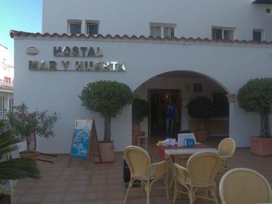 Hostal Mar y Huerta: entrata