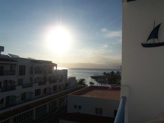 Hostal Mar y Huerta: vista balcone 3° piano