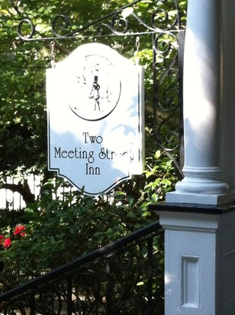 Two Meeting Street Inn: the Inn's sign
