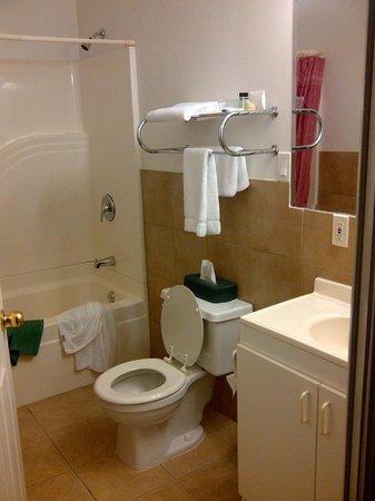 Motel Bel Eau: salle de bain