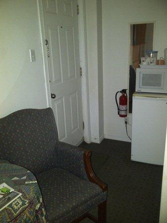 Motel Bel Eau: entrée