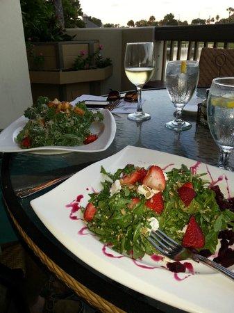 Aqua Grill: Strawberry and quinoa salad