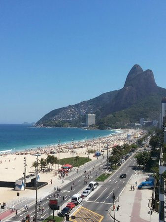 Praia Ipanema Hotel: taken from my balcony !