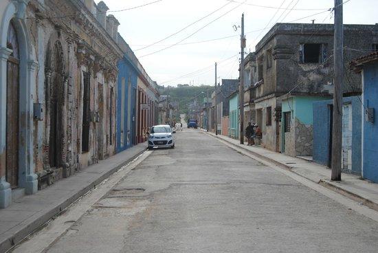 Hostal Los Hermanos: Vistas de la calle