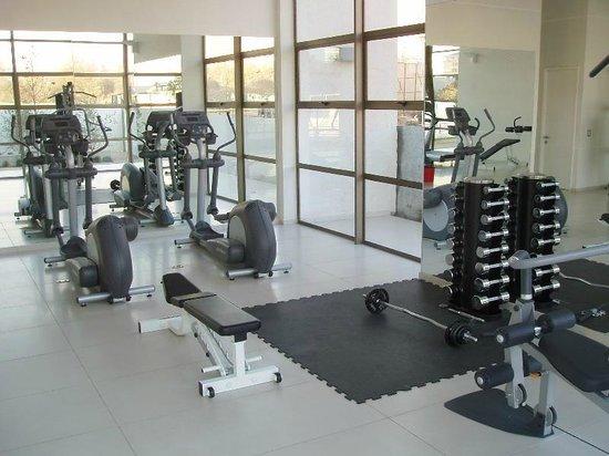 Norus Apartments Las Condes: gimnasio edificio