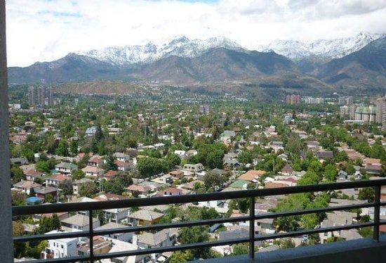 Norus Apartments Las Condes: vista cordillera de los andes desde las terrazas