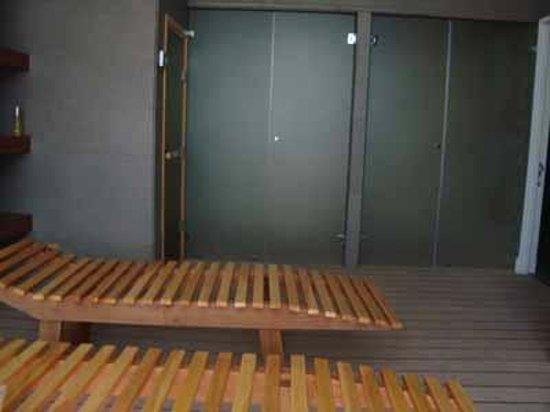 Norus Apartments Las Condes: sauna edificio