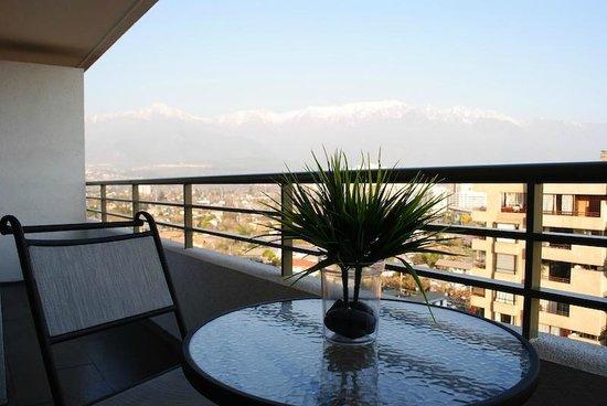 Norus Apartments Las Condes: terrazas