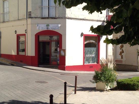 Vouvray, Francia: Bienvenue sur la terre à SandrA