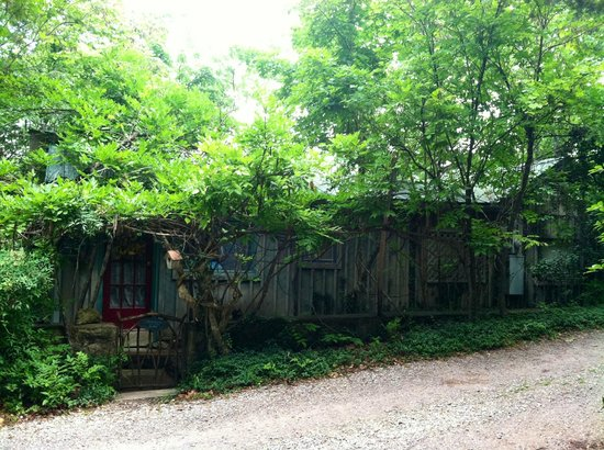 Enchanted Cottages: front of birdsong cottage