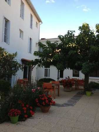 Grand Hotel Des Bains : le patio