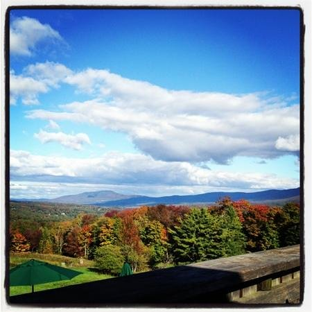 The Delibakery at Trapp Family Lodge: the view from the deli bakery