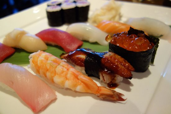 Sushi picture of masa sushi grill allendale tripadvisor for Asian cuisine allendale
