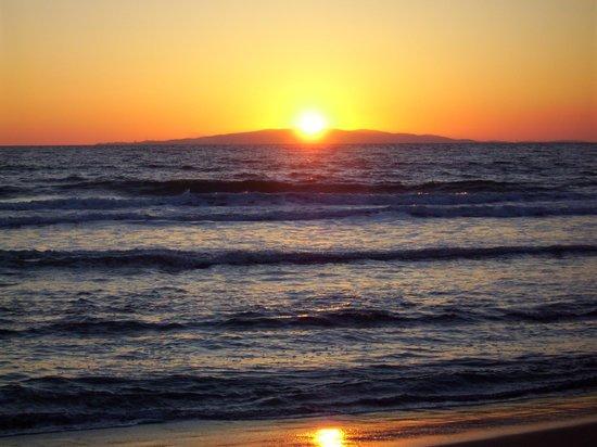 Camping Baia Verde: tramonto
