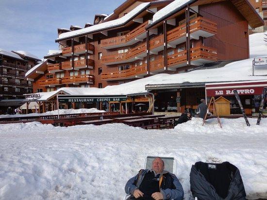 Pierre & Vacances Residence Les Sentiers du Tueda : Vu exterieur (la seule photo que nous ayons...)