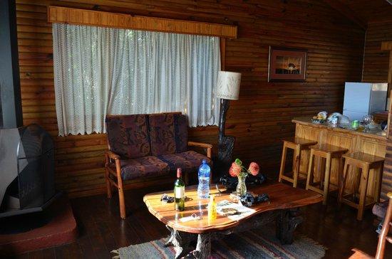 Zur Alten Mine: Holzchalet von Innen
