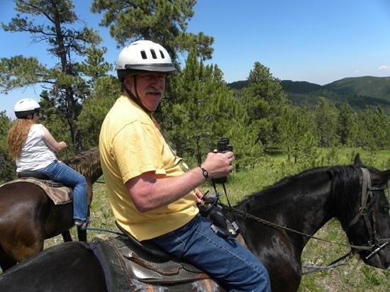 Blacktail Horseback and Walking Tours : great time on tour