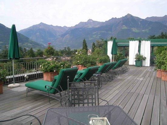 Pienzenau am Schlosspark: Dachterrasse