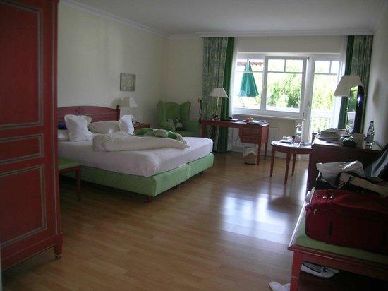 Pienzenau am Schlosspark: Schlaffzimmer
