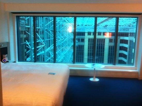 Novotel Melbourne on Collins: the view from hotel looking out
