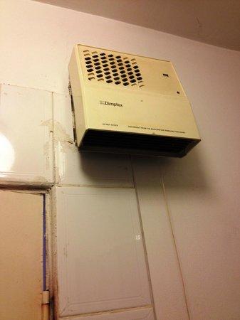 Abbott Lodge: riscaldamento bagno