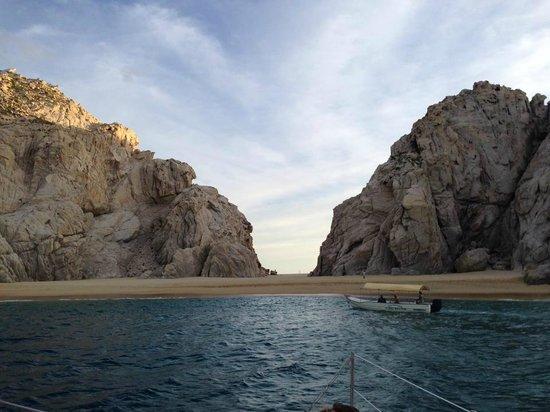 La Princesa Catamaran: Lovers Beach from the Sea of Cortez