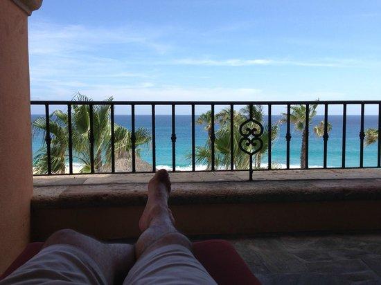 Sheraton Grand Los Cabos Hacienda del Mar: View from the patio/balcony in the main hotel building (Floor 19)