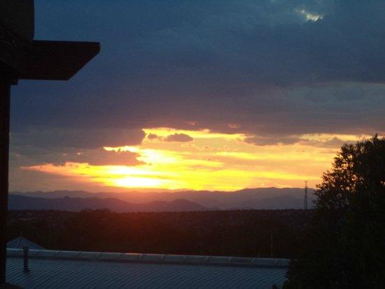 Hotel Santa Fe: Sunset