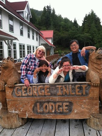 George Inlet Crab Feast: George Inlet Lodge and Crab Feast